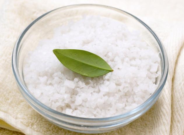 маска-скраб с солью для волос